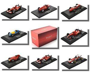 【送料無料】模型車 スポーツカー フェラーリスケールアトラスf1 cars, ferrari, 143 scale, atlas editions