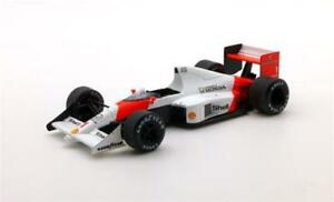 【送料無料】模型車 スポーツカー マクラーレンセナグランプリモナコスケールモデルmclaren mp45 a senna winner gp monaco 1989 true scale 143 tsm124331 model