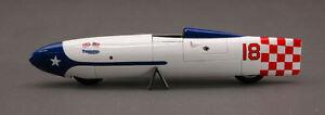 【送料無料】模型車 スポーツカー レコードモデルtriumph bonnevile record 1956 214 mph 143 model bizarre