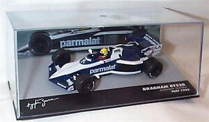 【送料無料】模型車 スポーツカー ブラバムアイルトンセナケーステストスケールbrabham bt52b ayrton senna test 1983 143 scale in case