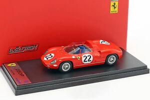 【送料無料】模型車 スポーツカー フェラーリ#ルマンパークスferrari 250p 22 3rd 24h lemans 1963 parkes, maglioli 143 looksmart
