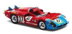 【送料無料】模型車 スポーツカー アルファロメオ#ルマンモデルスケールミニアチュアalfa romeo type 333 37 24h le mans 1970 143 model true scale miniatures
