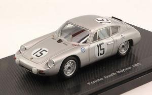 【送料無料】模型車 スポーツカー ポルシェアバルト#クラスデイトナチョモデルporsche abarth 15 5th winner class 3h daytona 1963 jo bonnier 143 model