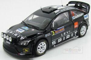 【送料無料】模型車 スポーツカー フォードイングランドフォーカスバージョンラリースウェーデンサンスターford england focus rs wrc08 night version rally swedish 2010 sunstar 118 ss3954