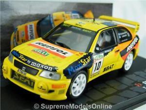 【送料無料】模型車 スポーツカー シートコルドバラリーカーニュージーランドseat cordoba wrc gardemeister rally car 143rd 1999 zealand example t312z