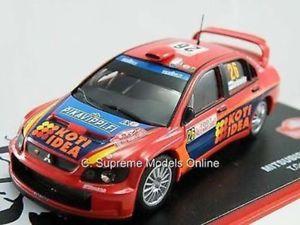 【送料無料】模型車 スポーツカー ランサーラリーカーモデルパッケージ