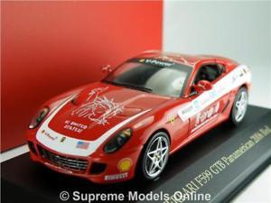 【送料無料】模型車 スポーツカー フェラーリモデルサイズレースネットワークferrari f599 gtb car model panamerican 143 size race ixo fer073 2006 red t34z