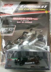 【送料無料】模型車 スポーツカー #カーコレクションシャドウエリオデアンジェリス75 f1 car collection shadow dn9 elio de angelis 1979