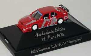 【送料無料】模型車 スポーツカー 187アルファロメオ155 itc 1996nr18ガブリエラtarquiniホッケンハイム
