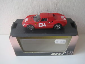 【送料無料】模型車 スポーツカー ベストフェラーリ#ニュルブルクリンクbest 143 ferrari 250 lm 134 nurburgring 1964 9009