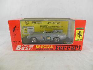 【送料無料】模型車 スポーツカー モデルフェラーリモンツァエドスケールbest models pr08 ferrari 750 monza 40th anniversary 19541994 ltd ed scale 143