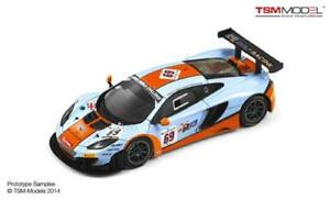 【送料無料】模型車 スポーツカー マクラーレンmp412c gt36924h2013true scale 143 tsm144335モデルmclaren mp412c gt3 69 gulf 24h spa 2013 true scale 143 tsm144335 model