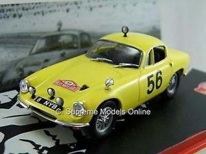 【送料無料】模型車 スポーツカー ロータスエリートラリーカーモデルデイビステイラーバージョンlotus elite 1962 rally car model daviestaylor 143 2 dr yellow version t341z