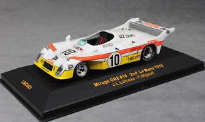【送料無料】模型車 スポーツカー ネットワークミラージュフォードルマンラフォスixo mirage gr8 ford dfv 2nd place 1976 le mans 24h lafosse amp; migault lmc063 143