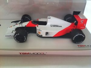 【送料無料】模型車 スポーツカー マクラーレン#セナモナコスケールmclaren mp46 1991 1 senna winner monaco gp true scale tsm134324 sealed
