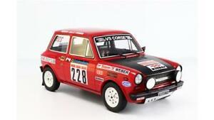 【送料無料】模型車 スポーツカー アバルトラリーイルautobianchi a112 abarth rally il ciocco 1978 etognana laudoracing 118 lrlm091e