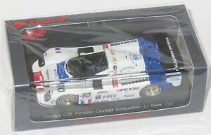 【送料無料】模型車 スポーツカー ポルシェルマン#143 courage c36 porsche 93576 courage competition le mans 24 hrs 1997 10