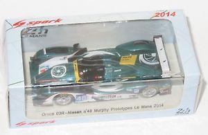 【送料無料】模型車 スポーツカー マーフィープロトタイプルマン#143 oreca 03r nissan murphy prototypes le mans 24 hrs 2014 48