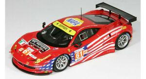 【送料無料】模型車 スポーツカー フェラーリイタリア#ルマンモデルferrari 458 italia gte 61 luxury24h le mans 2012 fujimi 143 fjm1343007 model