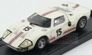 【送料無料】模型車 スポーツカー フォードアメリカチームフォードフランス#ルマンモデルボックスメートルford usa gt40 team ford france sa 15 24h le mans 1966 model box 143 mb8456 m