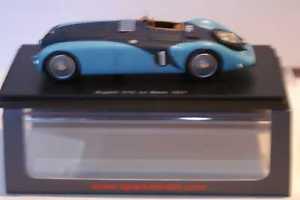 【送料無料】模型車 スポーツカー スパークブガッティルマンspark bugatti 57g lemans 1937 rlabric pveyron resin 143 s2736