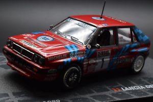 【送料無料】模型車 スポーツカー ランチアデルタラリーカーブランドlancia delta integrale 16v 1989 rally car 143 brand