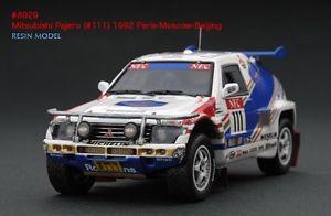 【送料無料】模型車 スポーツカー #パジェロパリモスクワラリーモデルrare hpi 8929 mitsubishi pajero paris moscow beijing rally 143 resin model