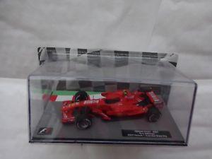 【送料無料】模型車 スポーツカー フォーミュラカーコレクションフェラーリキミライコネン#143 f1 formula 1 car collection ferrari f2007 kimi raikkonen 2007 car 17