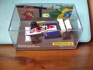【送料無料】模型車 スポーツカー 143ayrton senna32toleman hart tg184 1984143 ayrton senna no 32 toleman hart tg184 1984