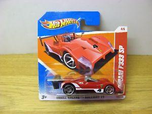 【送料無料】模型車 スポーツカー ホットホイールフェラーリ#ショートカード#スリルレーサーレースウェイhot wheels 2010 ferrari f333 sp 46 short card red 4 thrill racers raceway 11