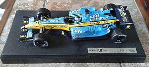 【送料無料】模型車 スポーツカー ホットホイールレーシングルノーフィジケラスケールモデルhot wheels f1 racing renault r25 fisichella scale 118 model boxed