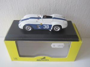 【送料無料】模型車 スポーツカー モデル143フェラーリ500tr pコリンズキューバ1957 art074art model 143 ferrari 500 tr p collins cuba 1957 art074