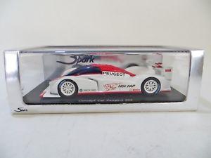 【送料無料】模型車 スポーツカー スパークモデルプジョールマンspark models s1270 peugeot 908 le mans concept car 143 mibboxed