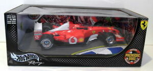 【送料無料】模型車 スポーツカー ホットホイールズ118ダイカストb7021フェラーリf2003 mシューマッハー2003hot wheels 118 scale diecast b7021 ferrari f2003 m schumacher 2003