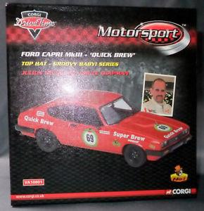 【送料無料】模型車 スポーツカー コルギ143フォードカプリmk iii1510va0951069エド1064