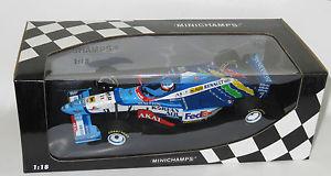 【送料無料】模型車 スポーツカー ベネトンルノーシーズンジャンアレジ118 benetton renault b197  1997 season  jean alesi