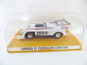 【送料無料】模型車 スポーツカー ポルシェアウディレースカーpolistil l2 porsche 91710 audi canam racing car mibboxed 132