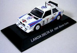 【送料無料】模型車 スポーツカー ラリーカーコレクションランチアデルタモンテカルロ 164 cms rally car collection ss3 lancia delta s4 1986 monte carlo