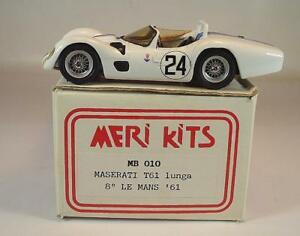 【保証書付】 【送料無料】模型車 スポーツカー マセラティマセラティルマン#キットmeri kits 143 no 10 maserati t 61 le mans 61 ovp 042, 光トレーディング c1ab1d3d