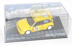 【送料無料】模型車 スポーツカー イビサキットカーラリーモンテカルロ listing143 seat ibiza kit car  rally monte carlo 1999 tgardemeister plukander