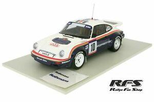 【送料無料】模型車 スポーツカー ポルシェロスマンズラリーツールドコルスオットーporsche 911 sc rs rothmans rally tour de corse 1985 beguin 118 otto 173