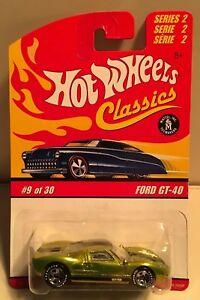 【送料無料】模型車 スポーツカー ホットホイールコレクタモデルフォードグリーンhot wheels classics collectors model ford gt40 0930 green
