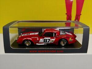 【送料無料】模型車 スポーツカー スパークシボレーカマロルマンテストバレンタイン[rare] spark chevrolet camaro le mans test 1980 carter edwards valentine 143