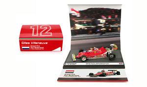 【送料無料】模型車 スポーツカー フェラーリオランダザントフォールトグランプリジルヴィルヌーヴサーキットbrumm as59b ferrari 312 t4 zandvoort dutch gp 1979 gilles villeneuve 143