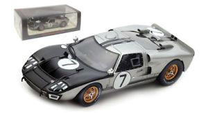 【送料無料】模型車 スポーツカー スパークs5183フォードmk27アランマンルマン1966 gミュアー143spark s5183 ford mk2 7 alan mann racing le mans 1966 g hillmuir 143 scale