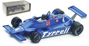 【送料無料】模型車 スポーツカー スパークティレル#アルゼンチングランプリスケールspark s4318 tyrrell 010 4 argentine gp 1981 ricardo zunino 143 scale