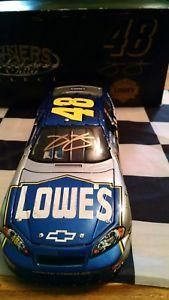 【送料無料】模型車 スポーツカー 2007ジミージョンソンサイン481242007 jimmie johnson gold autographed 48 owners club select 124