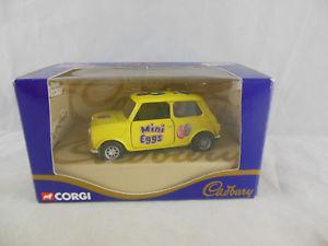 【送料無料】模型車 スポーツカー コルギミニ04420キャドバリーイエロー136ミニミニcorgi mini mania 04420 cadburys mini egg mini in yellow 136 scale