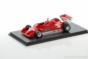 【送料無料】模型車 スポーツカー f1アルファromeo 177ジャコメリ1979143spark s3896f1 alfa romeo 177 giacomelli 1979 143 spark s3896