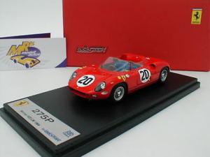 【送料無料】模型車 スポーツカー スマートフェラーリルマンlook smart lslm 050ferrari 275p 20 winner 24h le mans 1964 143